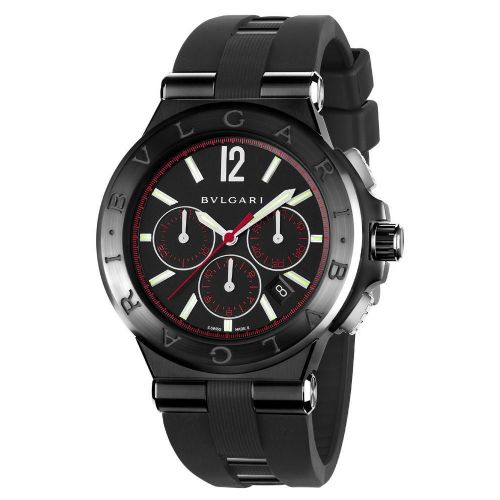 BVLGARI Diagono Ultranero Automatic Chrono Gents Watch DG42BBSCVDCH/1